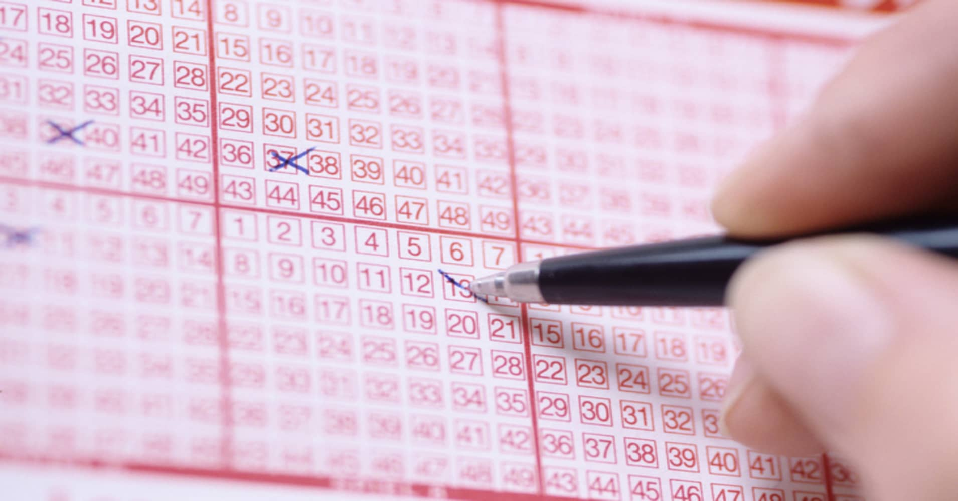 Here are the odds of you winning the lottery