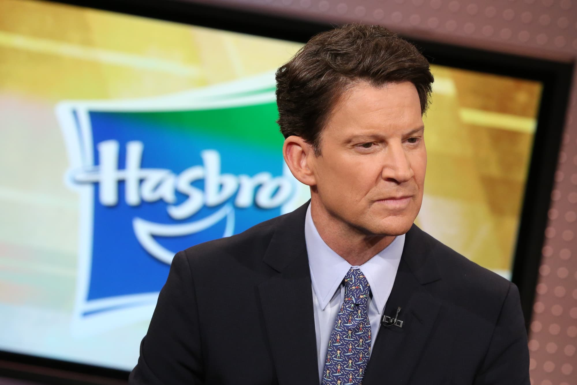 hasbro ceo brian goldner supply chain has improved and