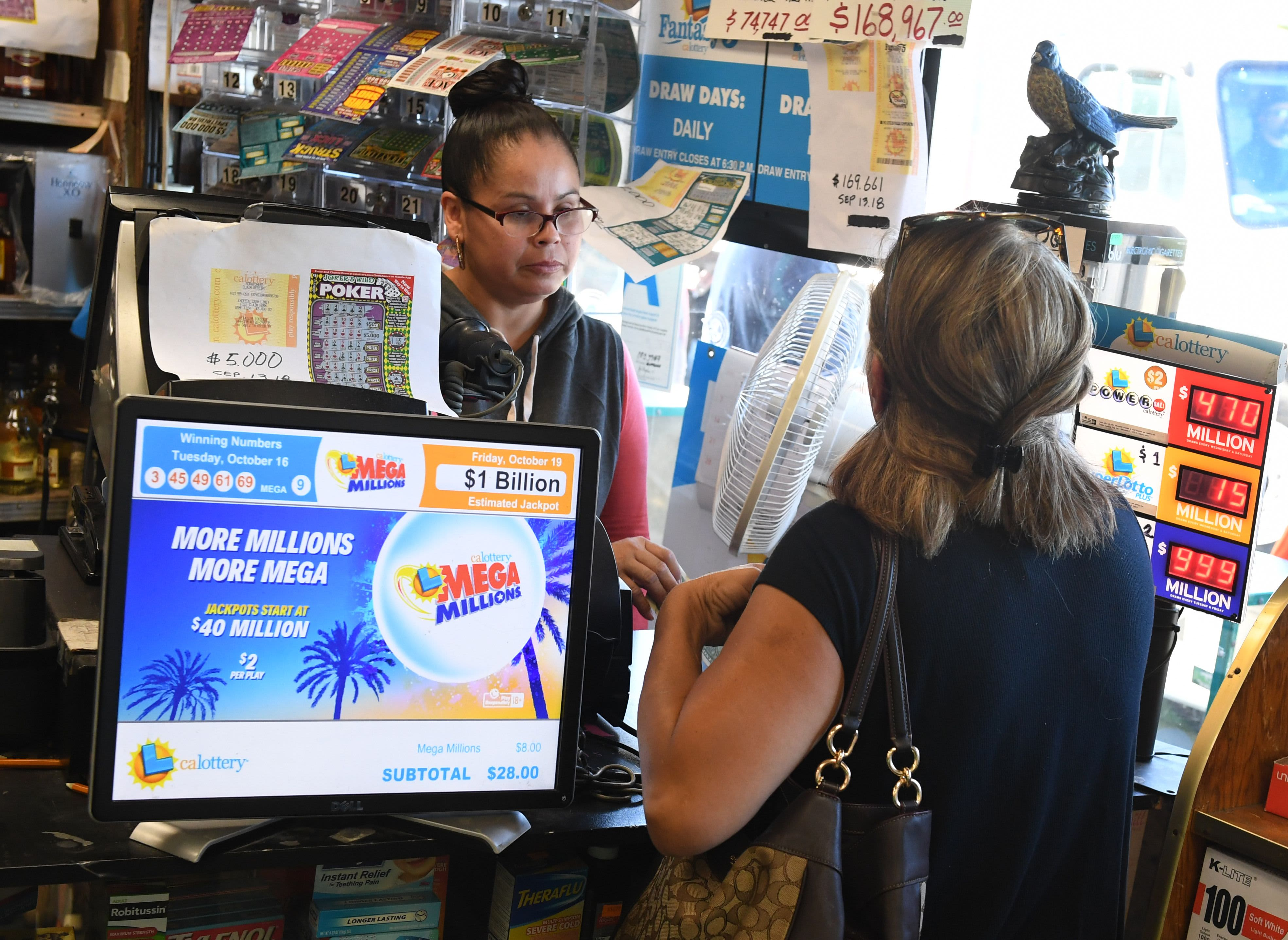 Americans spend over $1,000 a year on lotto tickets