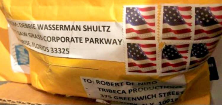 Robert DeNiro package containing pipe bomb 181025