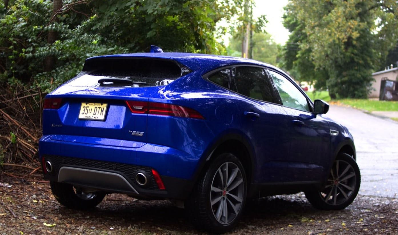The 2018 Jaguar E Pace Is A Small But Luxurious Compact Cross Over