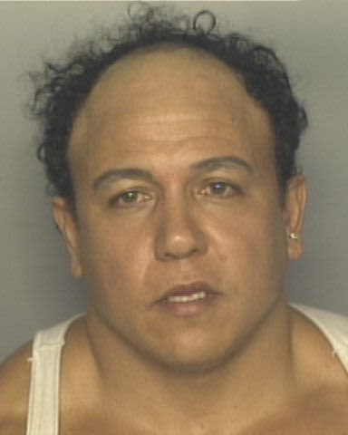Cesar Soyoc Jr. 2002 mugshot after making bomb threats