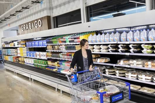Sam's Club is ditching cashiers at a new store in Texas