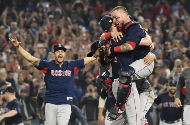 e2254dc99 GP: World Series - Boston Red Sox v Los Angeles Dodgers - Game Five 181029