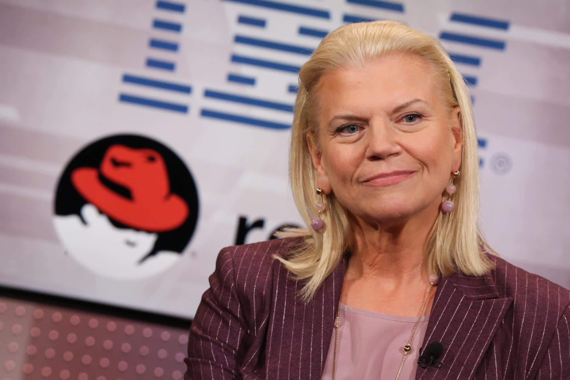 IBM Shares Jump on Earnings Beat