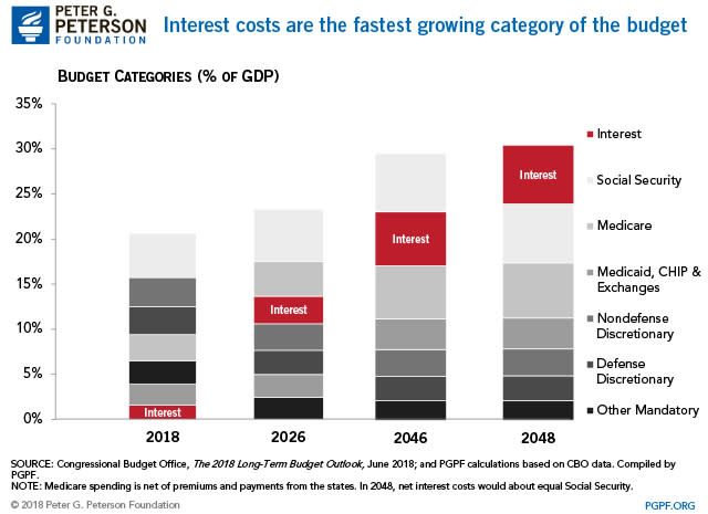 Chart asset: PGPF interest costs budget