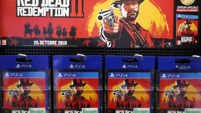 Rockstar's Red Dead Redemption 2 smashes opening weekend records