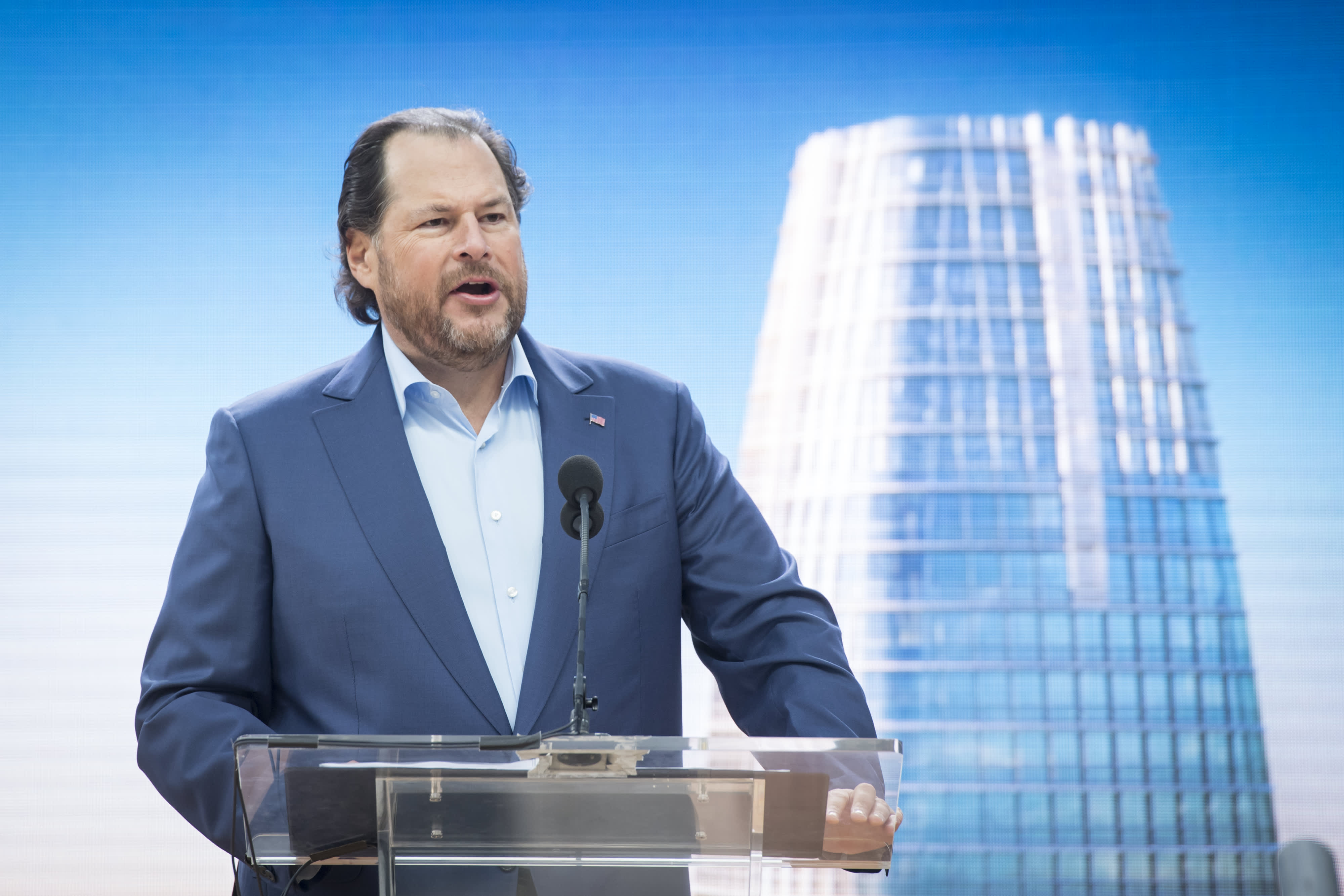 Billionaire Marc Benioff: Capitalism has 'led to horrifying inequality' and must be fixed