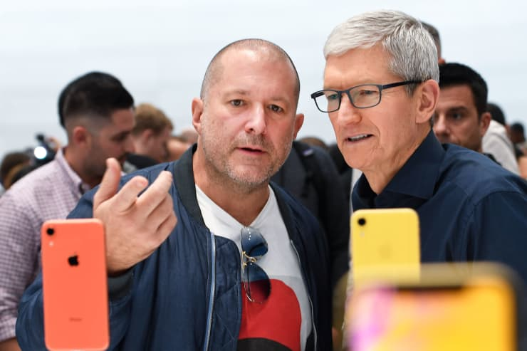 GP: Jony Ive and Tim Cook
