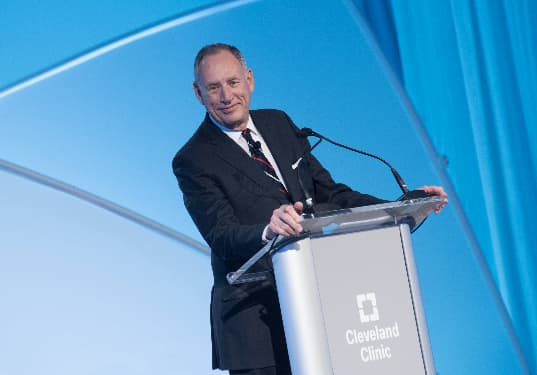 The former CEO of the Cleveland Clinic has some surprising advice for Google's cloud team as it tries to break into health care