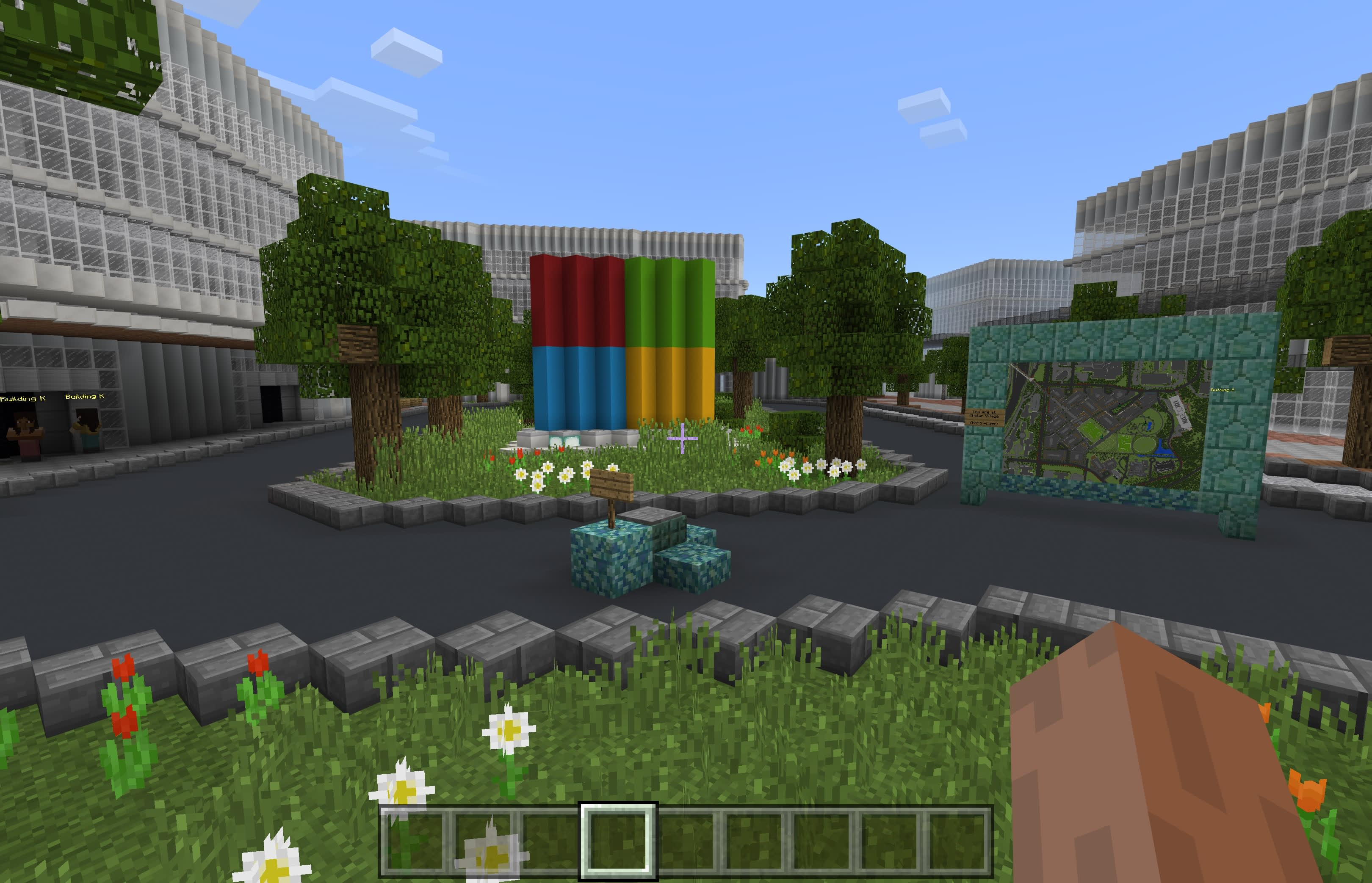 Microsoft Has A Version Of Its New Campus In Minecraft