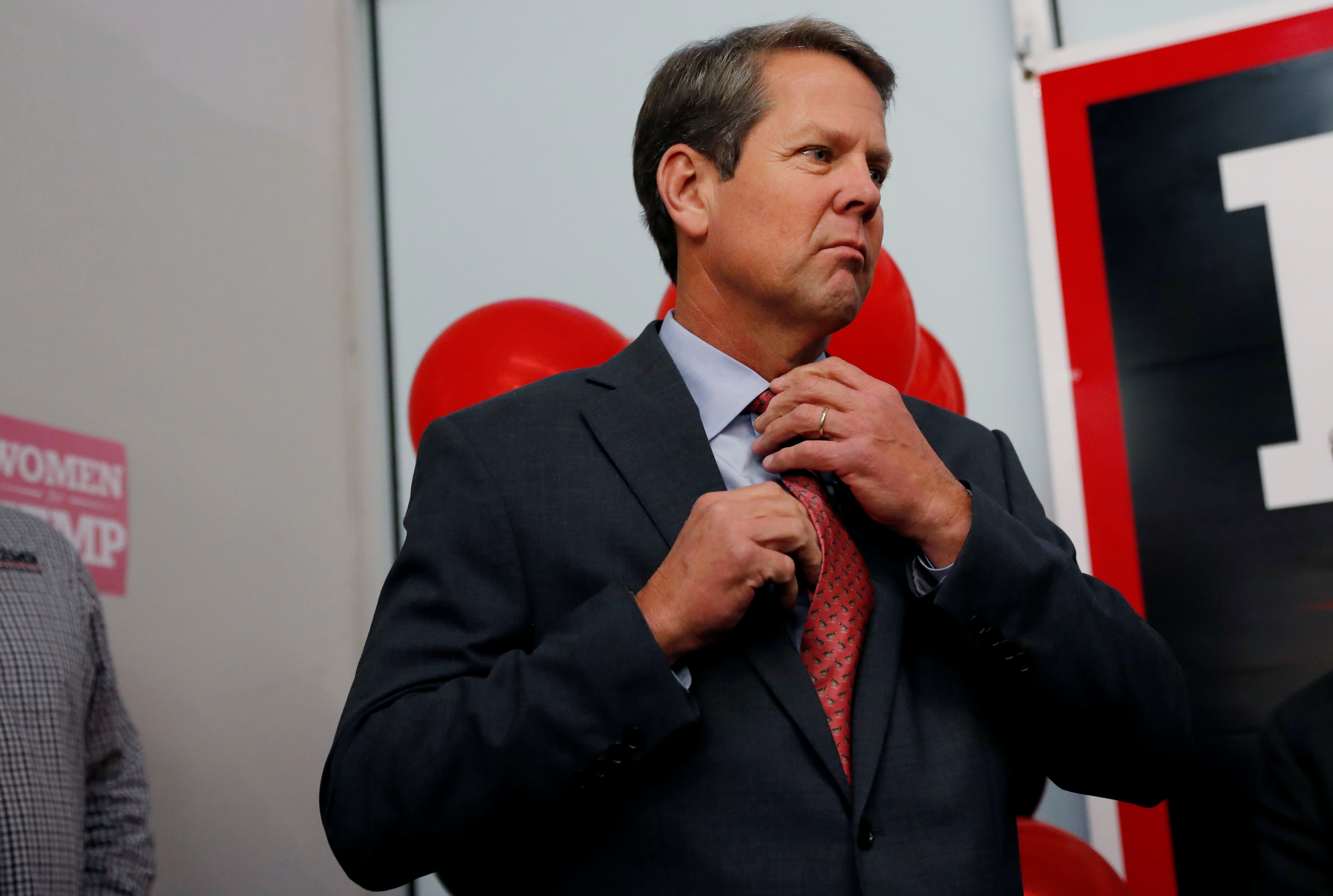 Georgia's GOP gubernatorial candidate Brian Kemp to resign as secretary of state