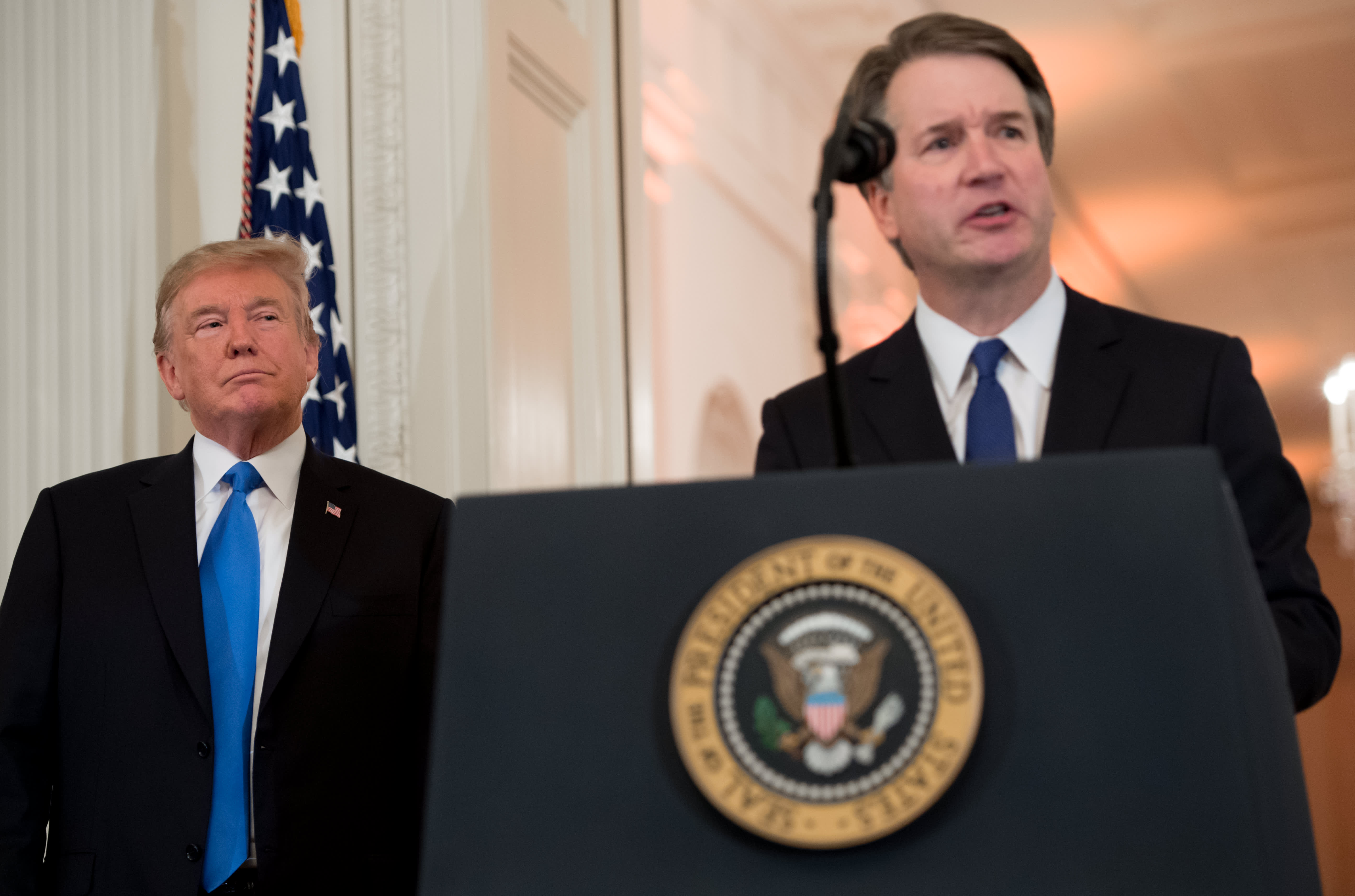 House Democrats ask National Archives for Brett Kavanaugh's White House records