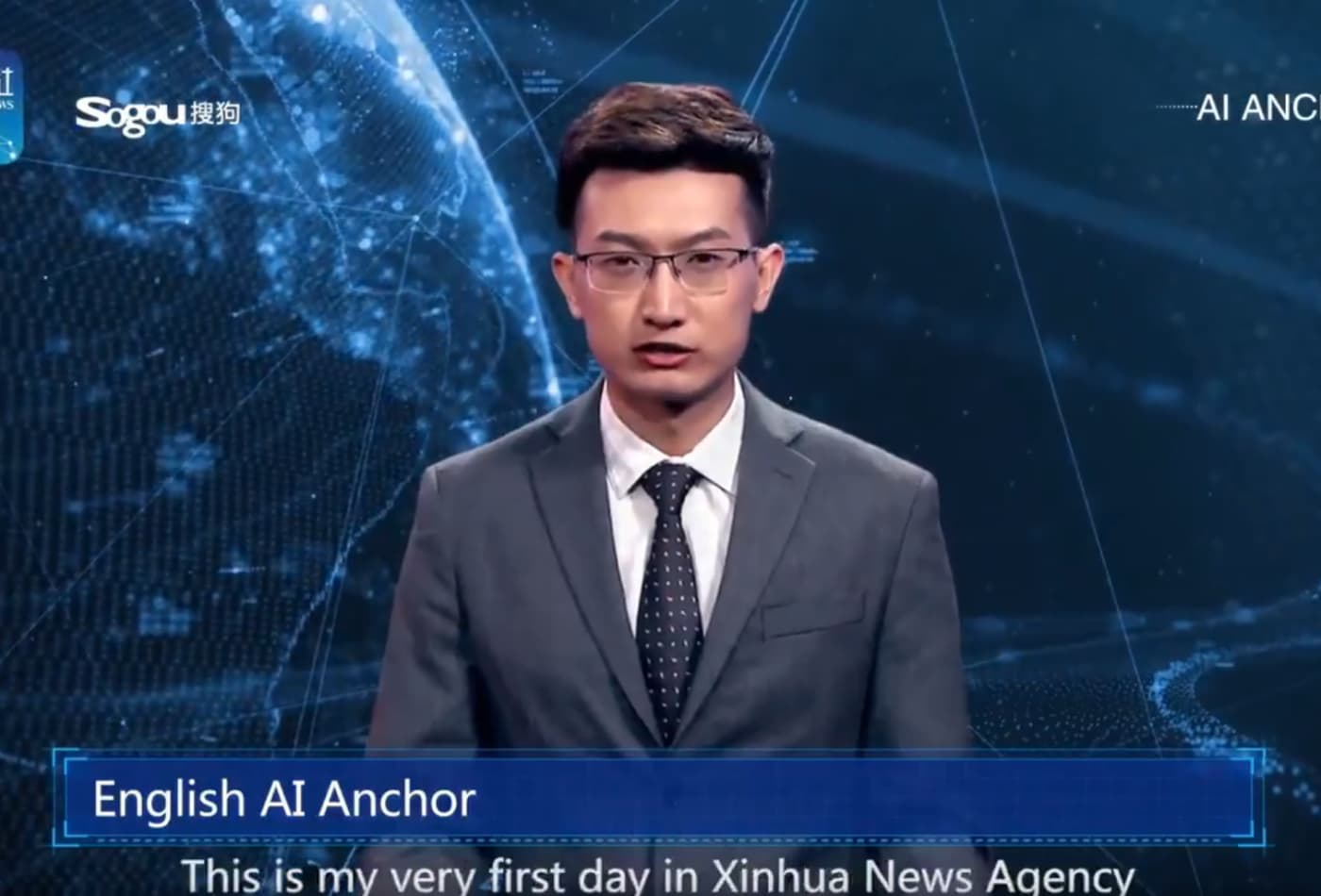 Experts cast doubt on whether China's news anchor is really A I
