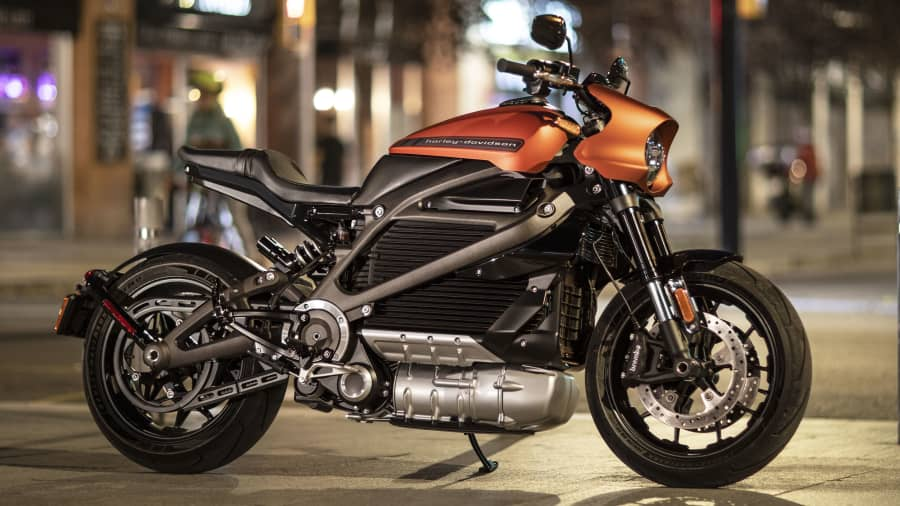 """The HarleyDavidson LiveWire electric motorcycle doesn't have big sales yet, but CEO Jochen Zeitz recently remarked during an earnings call, """"It's also attracting new riders, new customers to the brand that might not have considered HarleyDavidson before"""""""