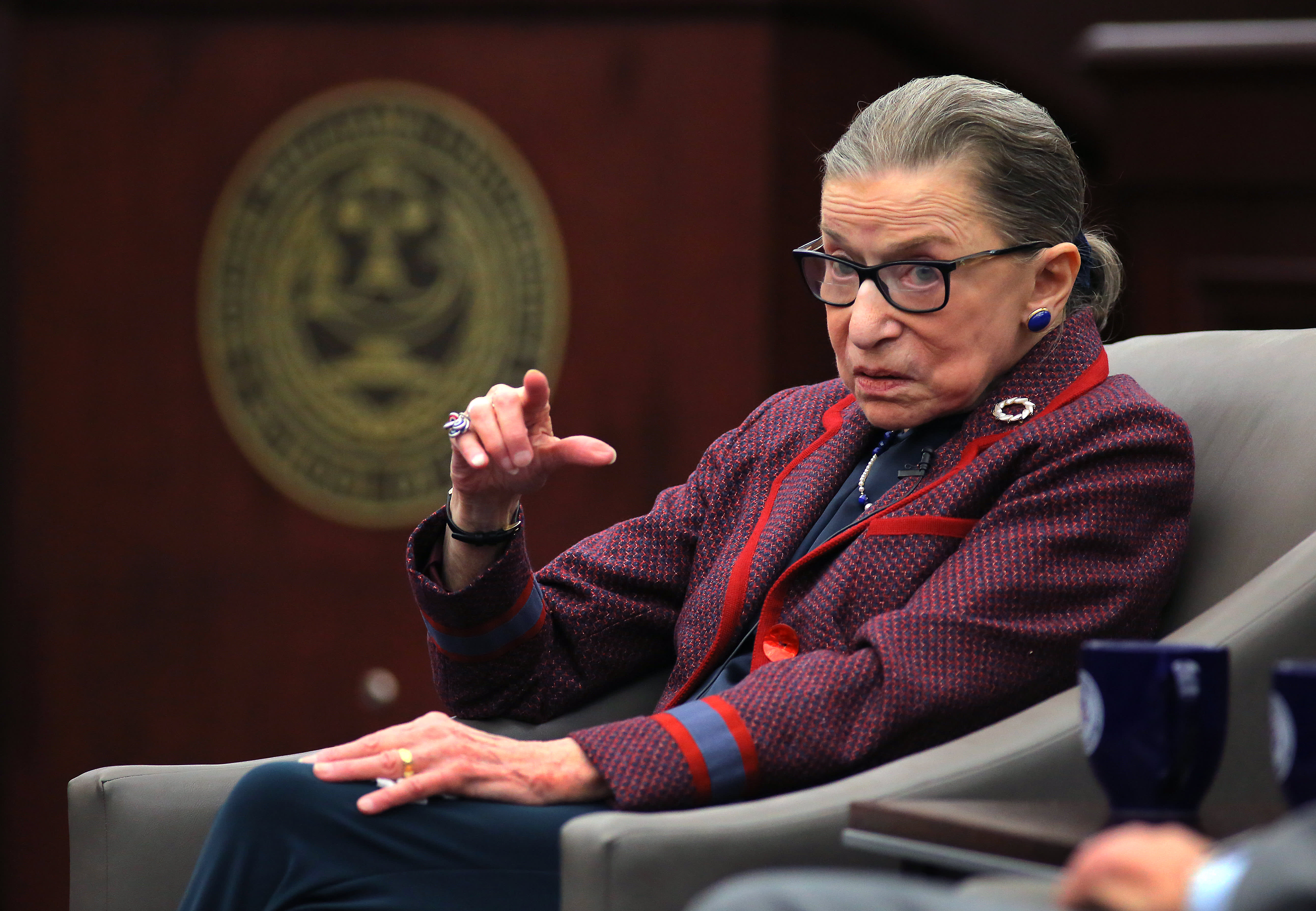 With Ruth Bader Ginsburg's health in the spotlight, attention turns to abortion foe waiting in the wings