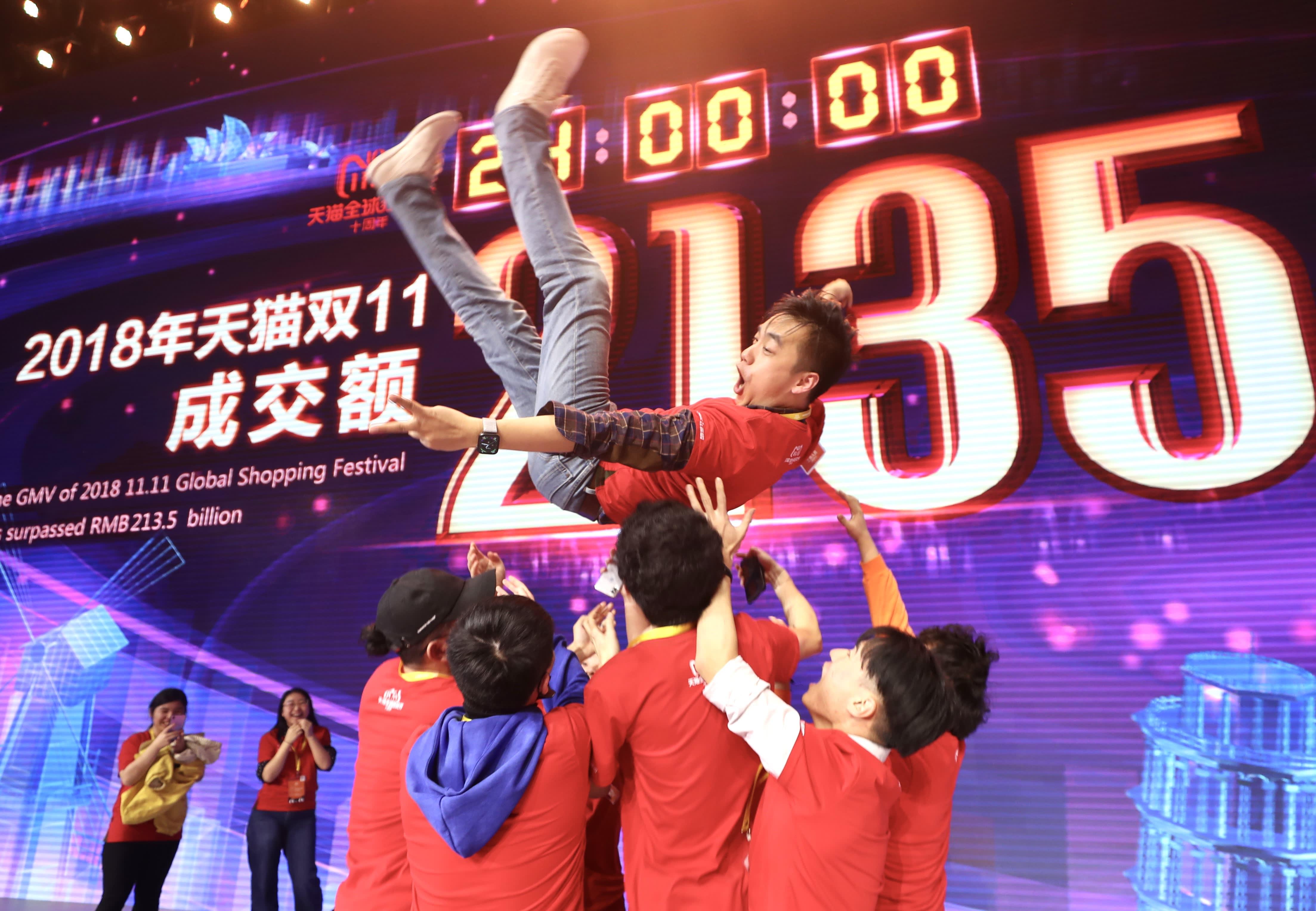 GP: 2018 Alibaba Global Shopping Festival Singles Day 181112