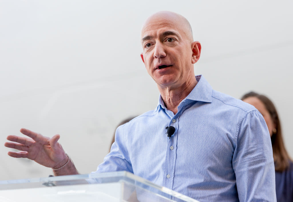 At all-hands meeting Jeff Bezos tells employees he's 'very excited' about the auto industry