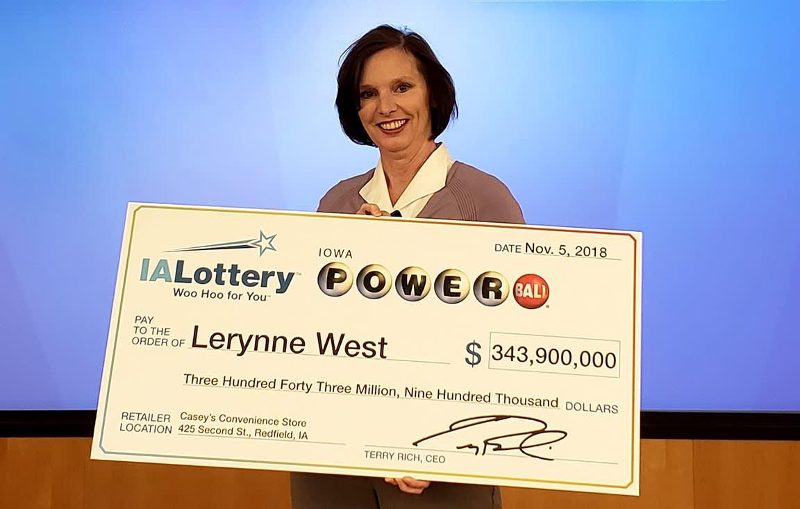 Iowa woman who won $688 million jackpot almost lost her