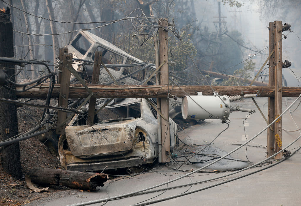 PG&E plunges 21% after disclosing 'electric incident' just