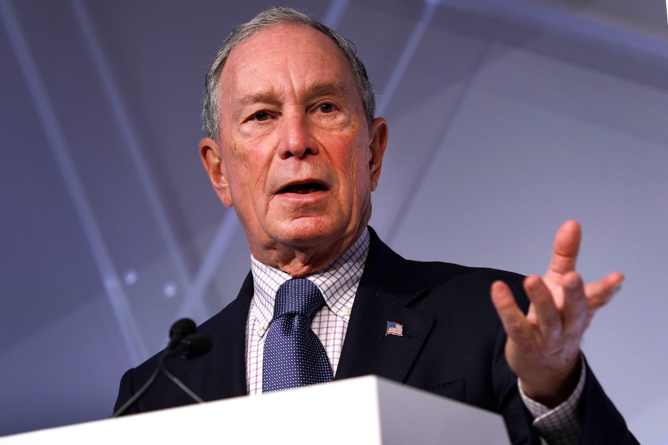 Mike Bloomberg owns a New York condo in a Trump property