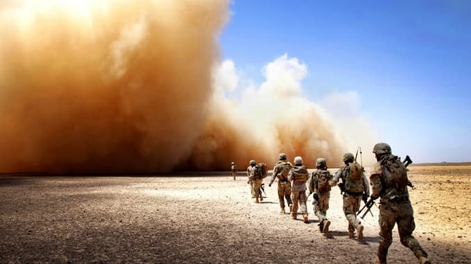 Us Has Spent 5 9 Trillion On Middle East Asia Wars Since