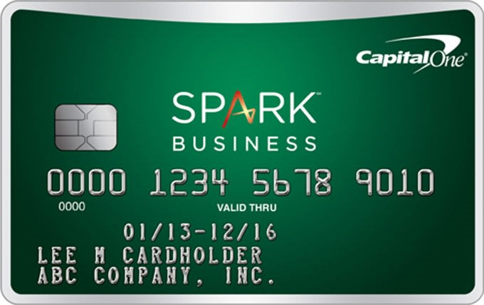 Credit card: Capital One spark cash