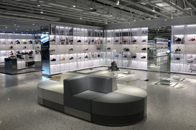 c23a3b87cc2ec Nike opens new flagship store in NYC with customized sneakers