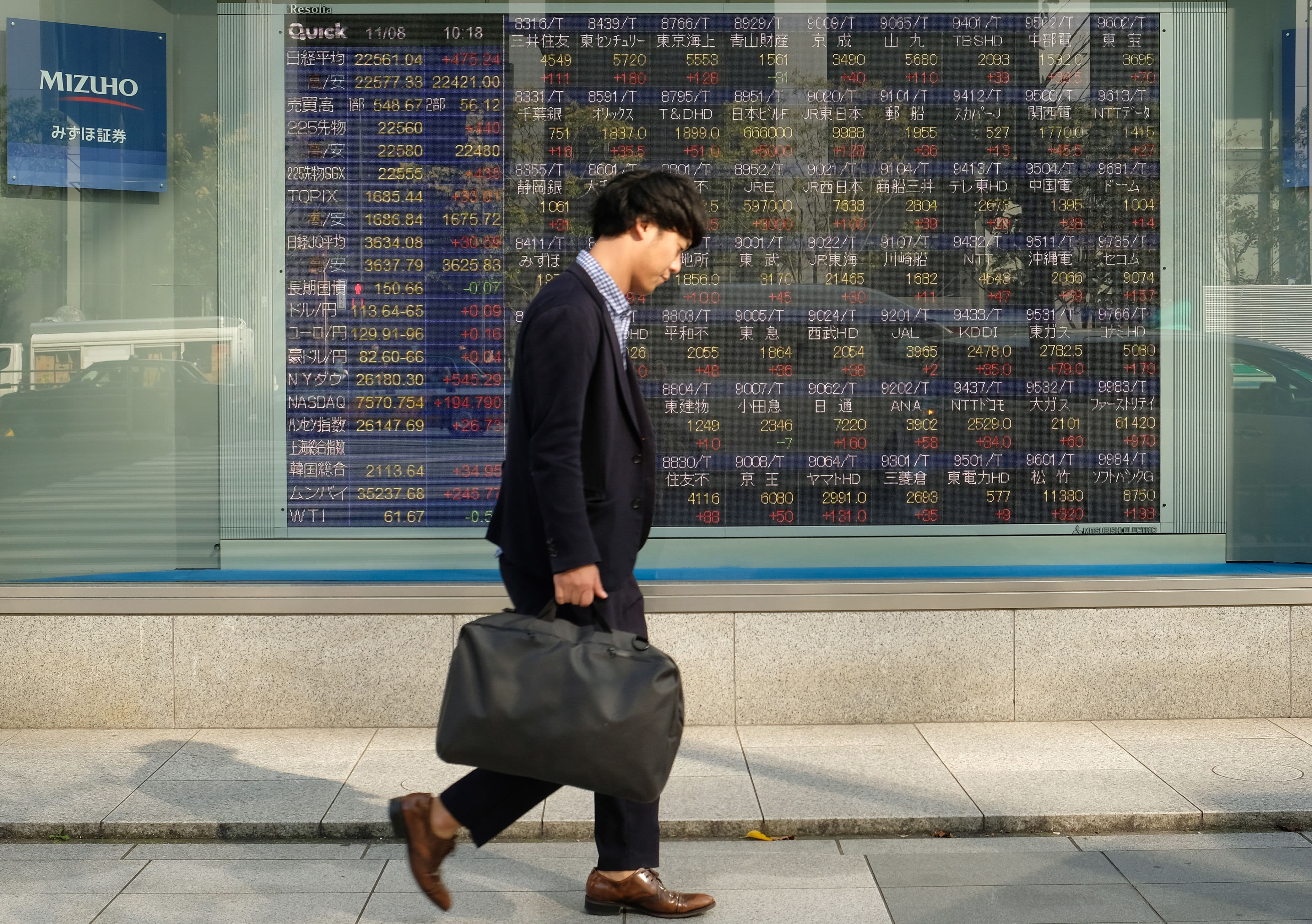 Asia stocks mostly higher as investors watch for US-China trade updates