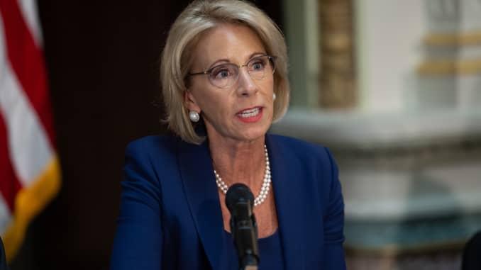 GP: Betsy DeVos, Secretary of Education 180816