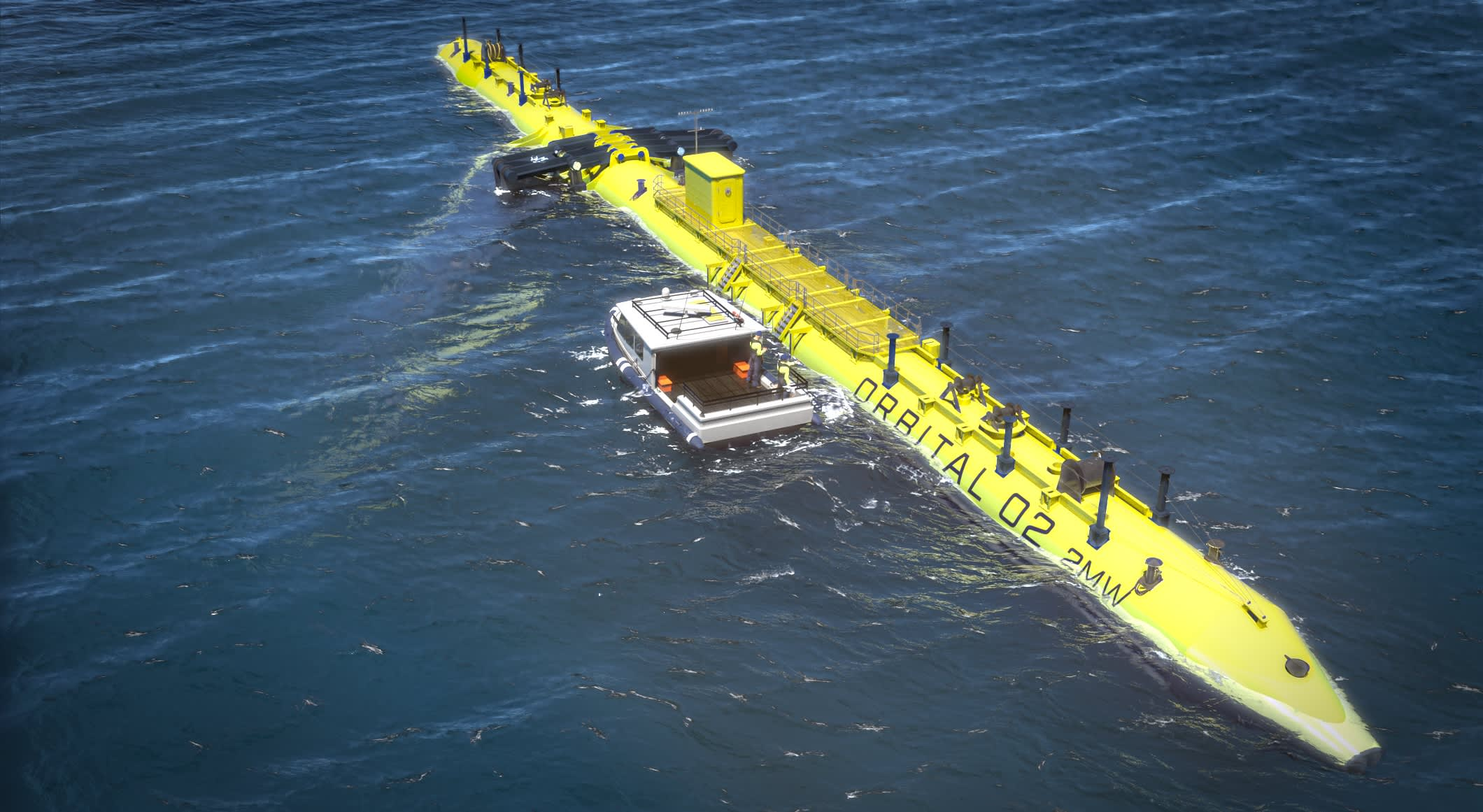 Blades contract signed as work continues on 'world's most powerful tidal turbine'