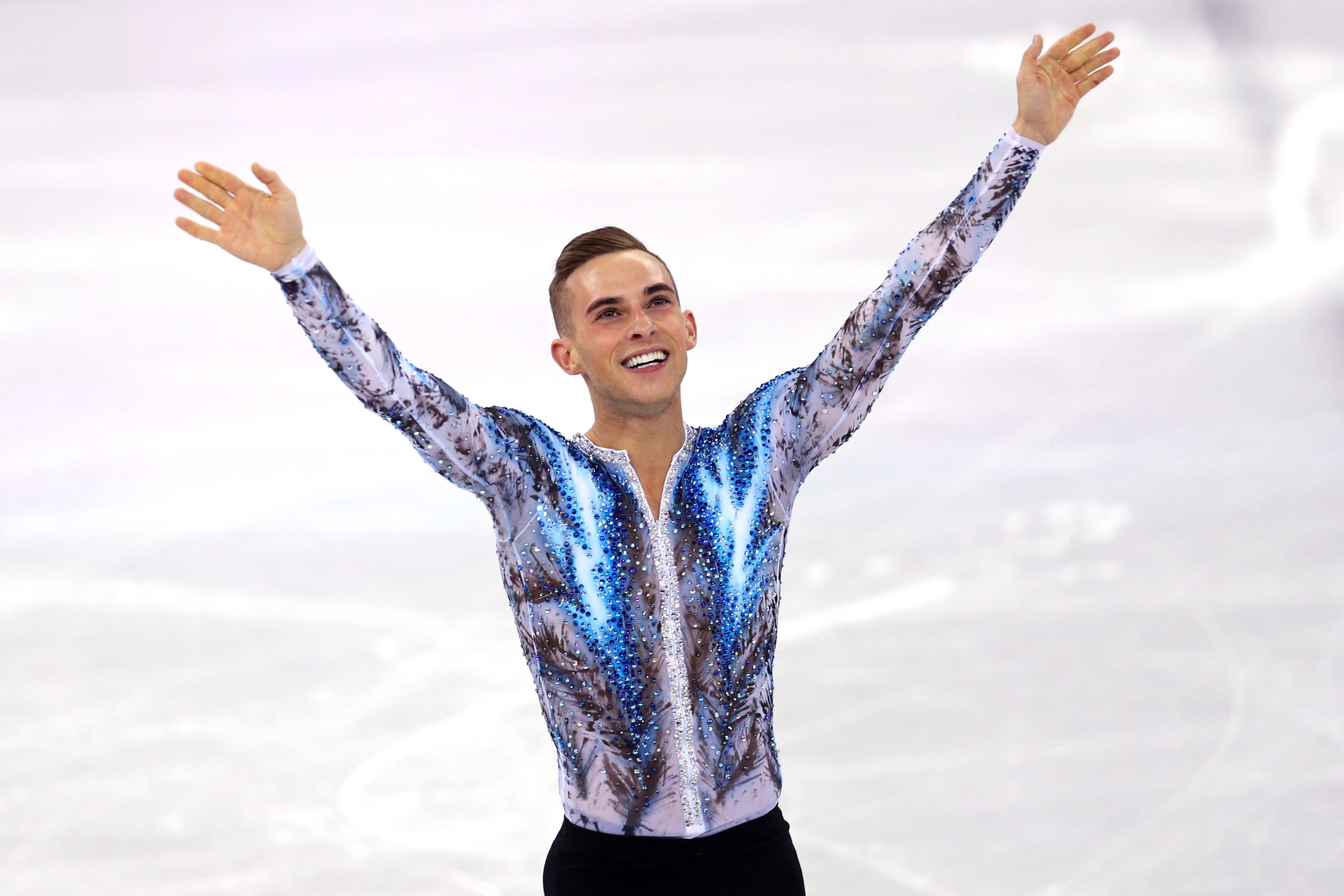 How Adam Rippon stays productive on a 'scary' small amount of sleep