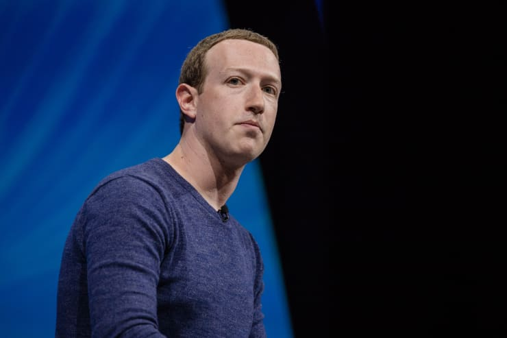 GP: Mark Zuckerberg listens during the Viva Technology conference in Paris on Thursday, May 24, 2018.