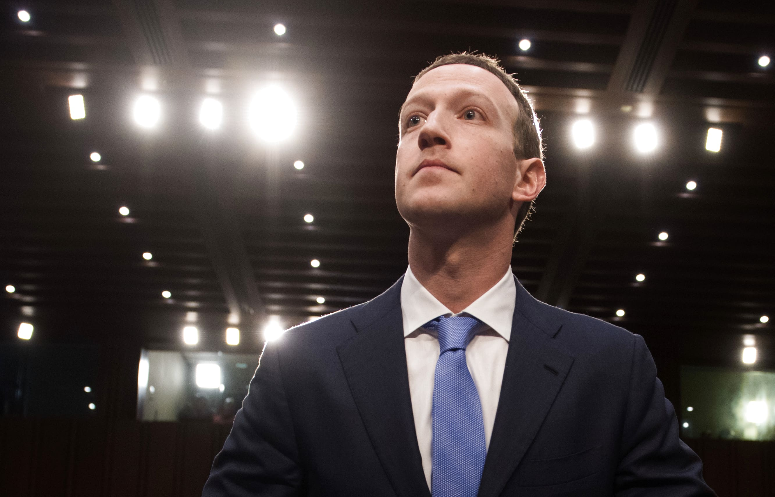 Senator challenges Zuckerberg testimony as 'at best, incomplete' after report of Facebook's audio transcription