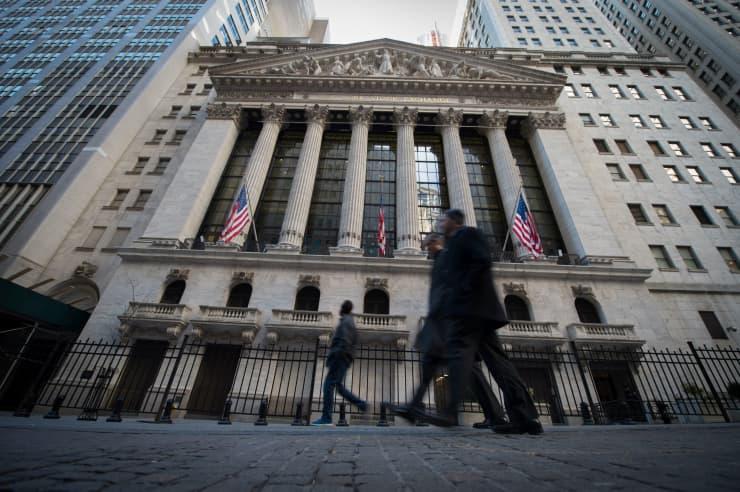 GP: NYSE exterior Wall Street