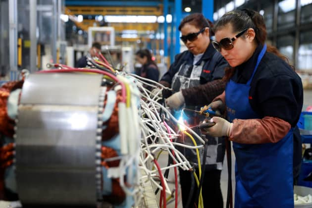 China economy: January manufacturing and services PMI