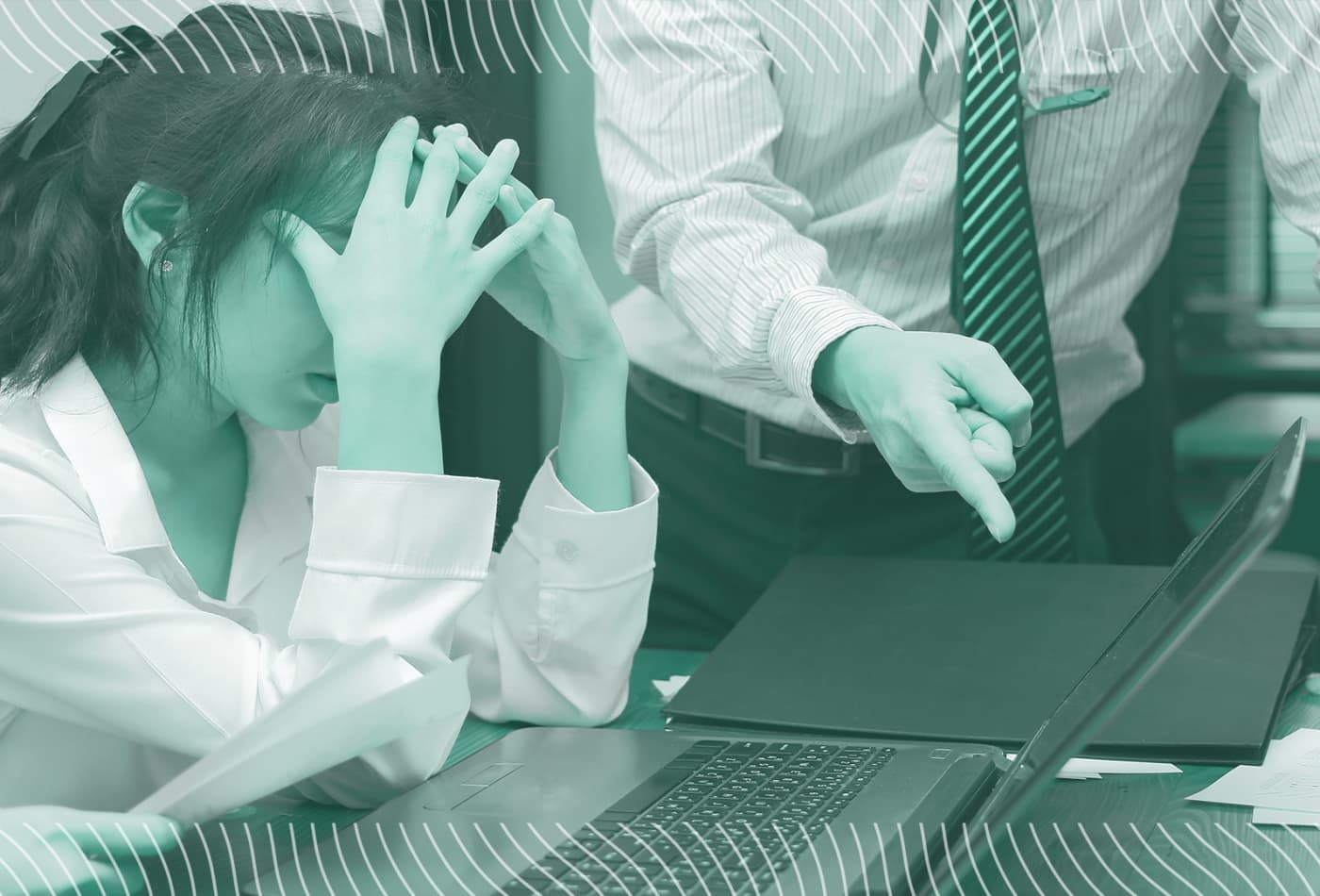 The best way to deal with a toxic coworker