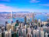 View of the Hong Kong skyline from Hong Kong Island.
