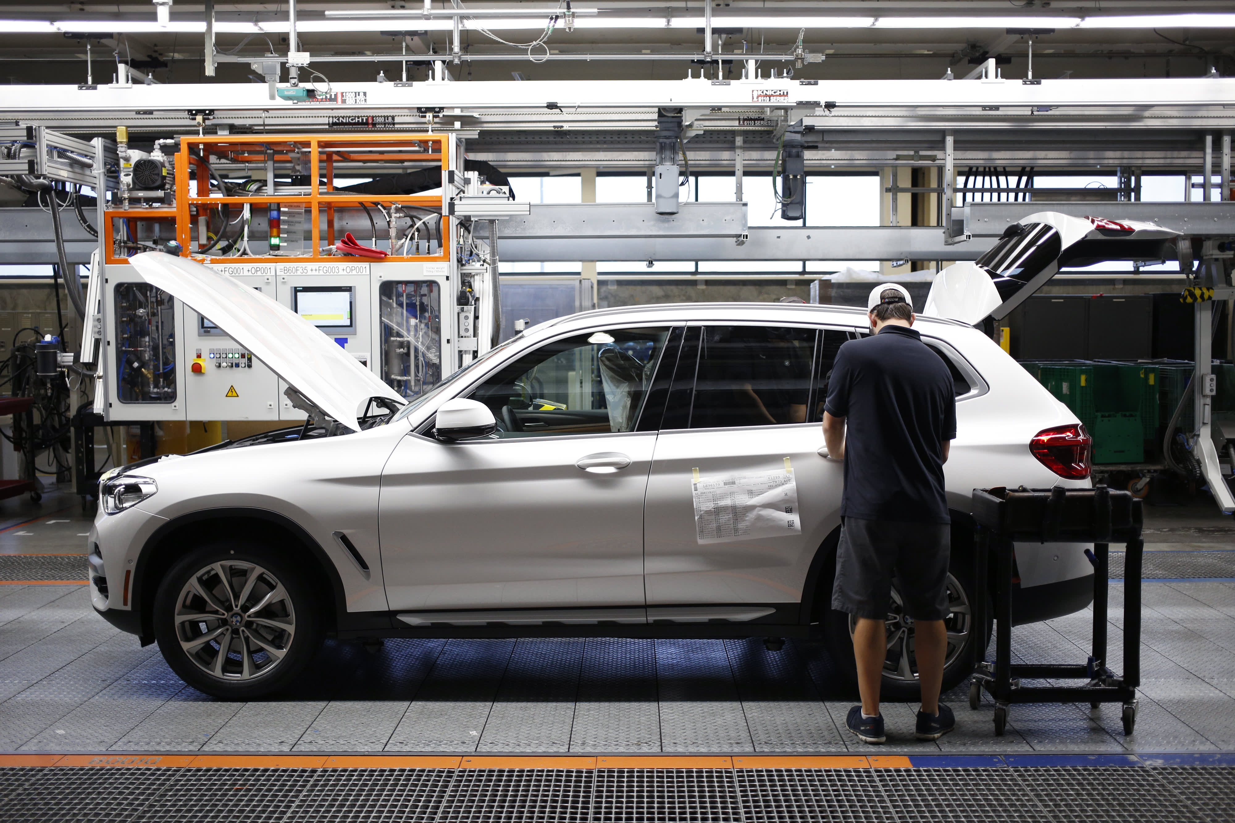 China tariffs have not hurt U S -made BMW SUV sales one bit