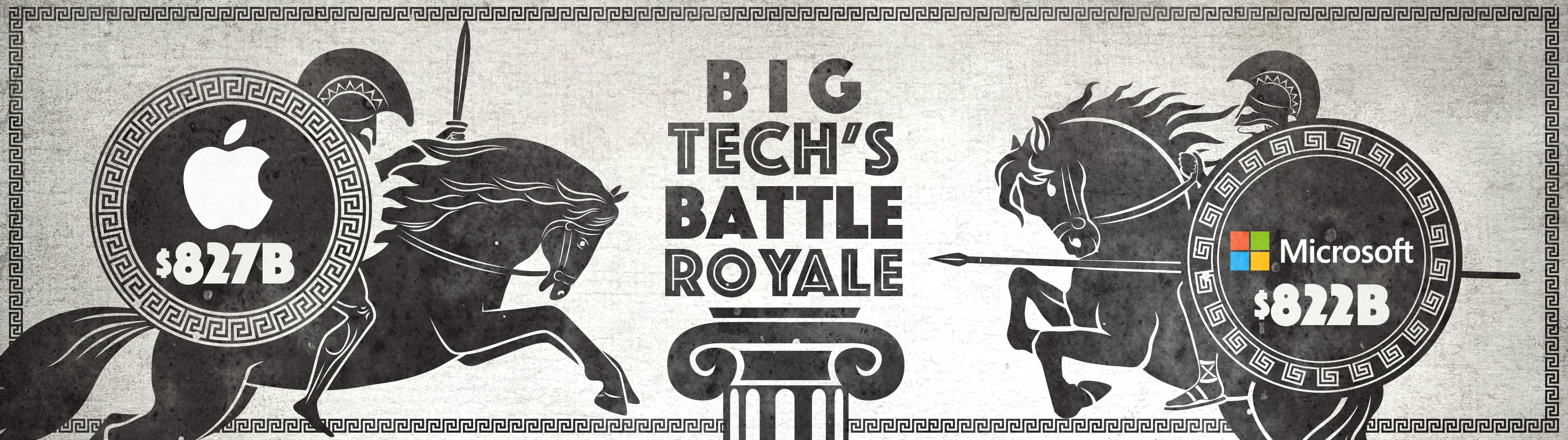 Big Tech Battle Royale Apple vs Microsoft