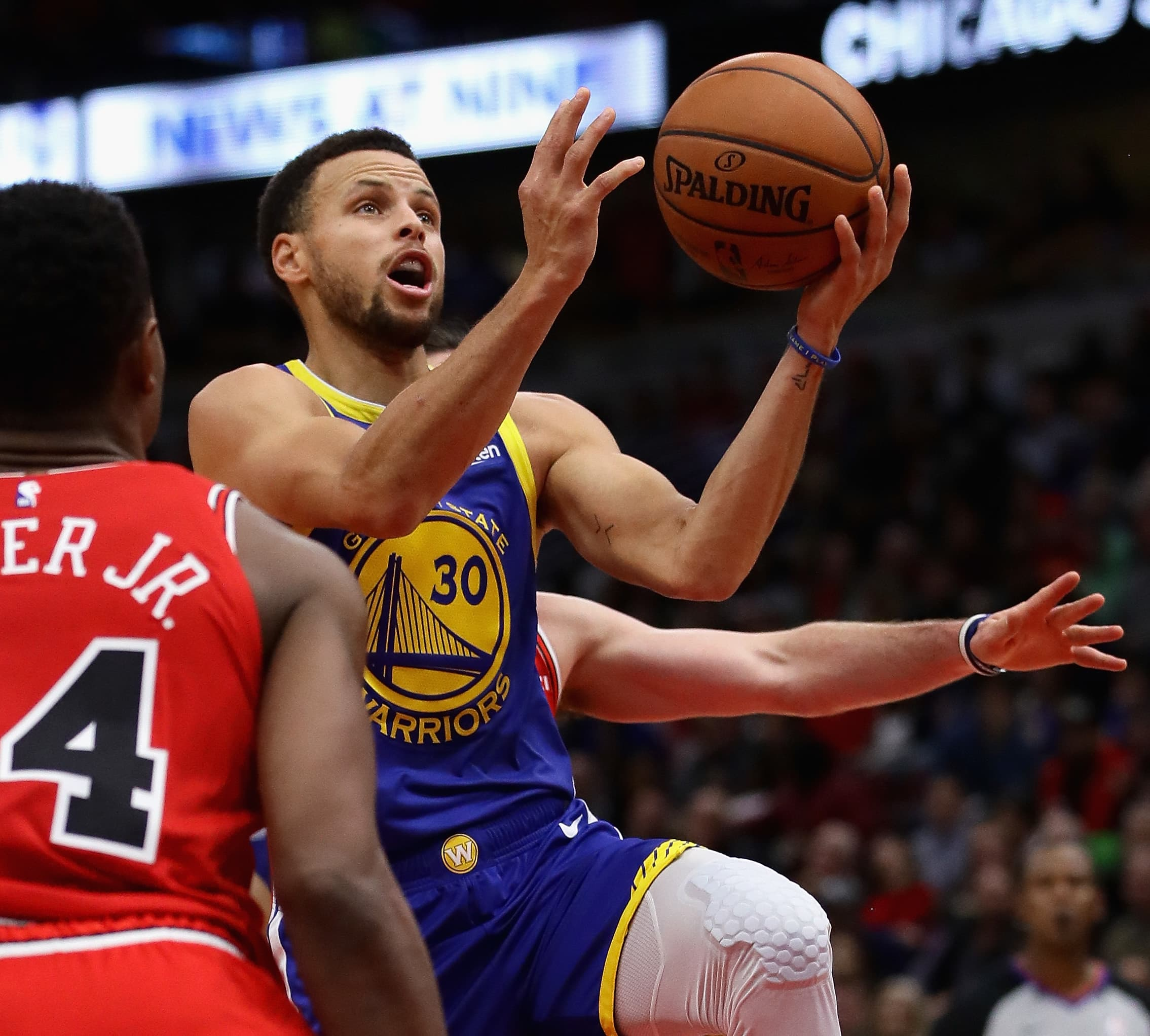 NBA's Steph Curry makes his Under