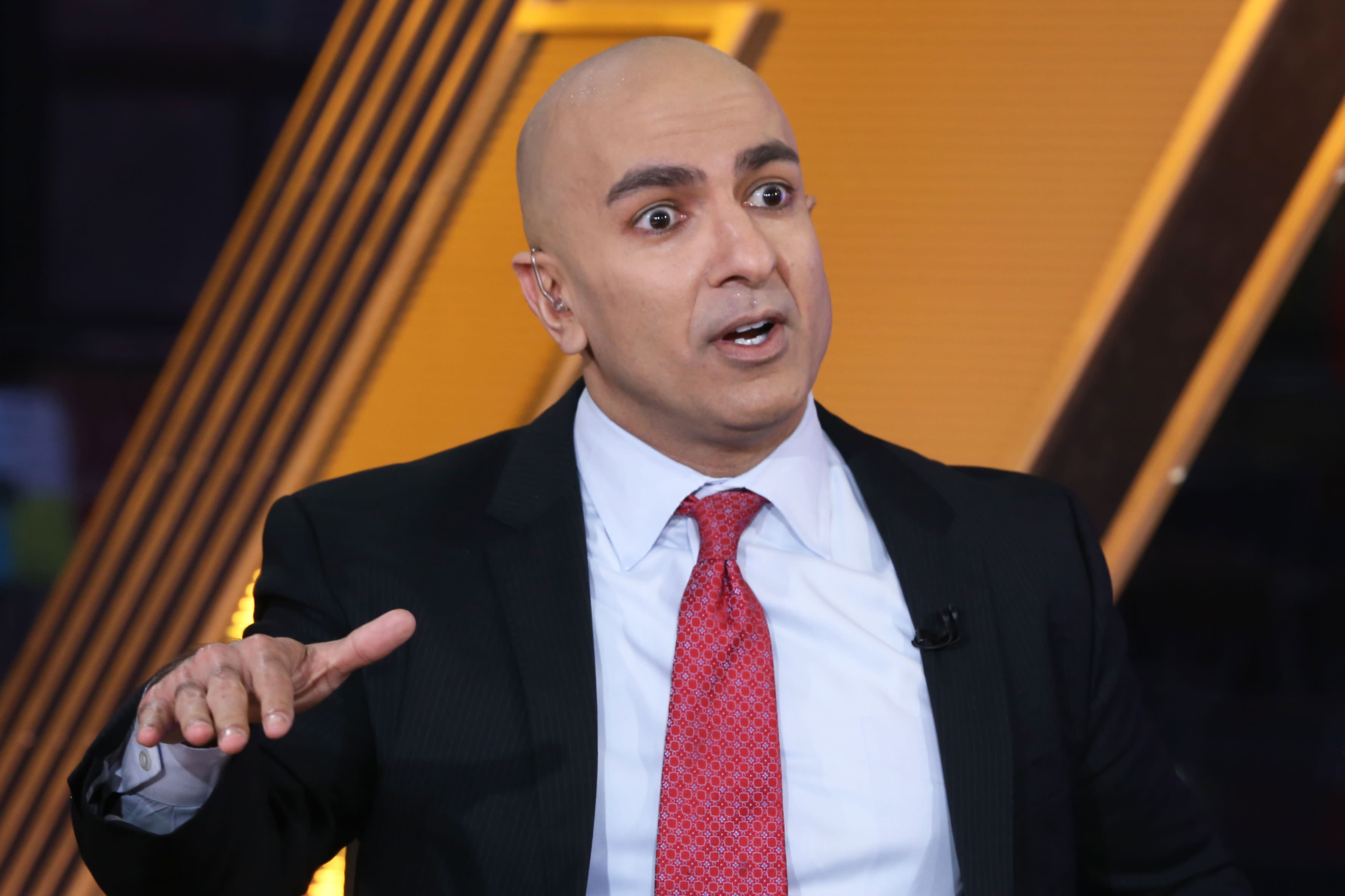 Fed's Kashkari calls for no more rate hikes until inflation hits 2%