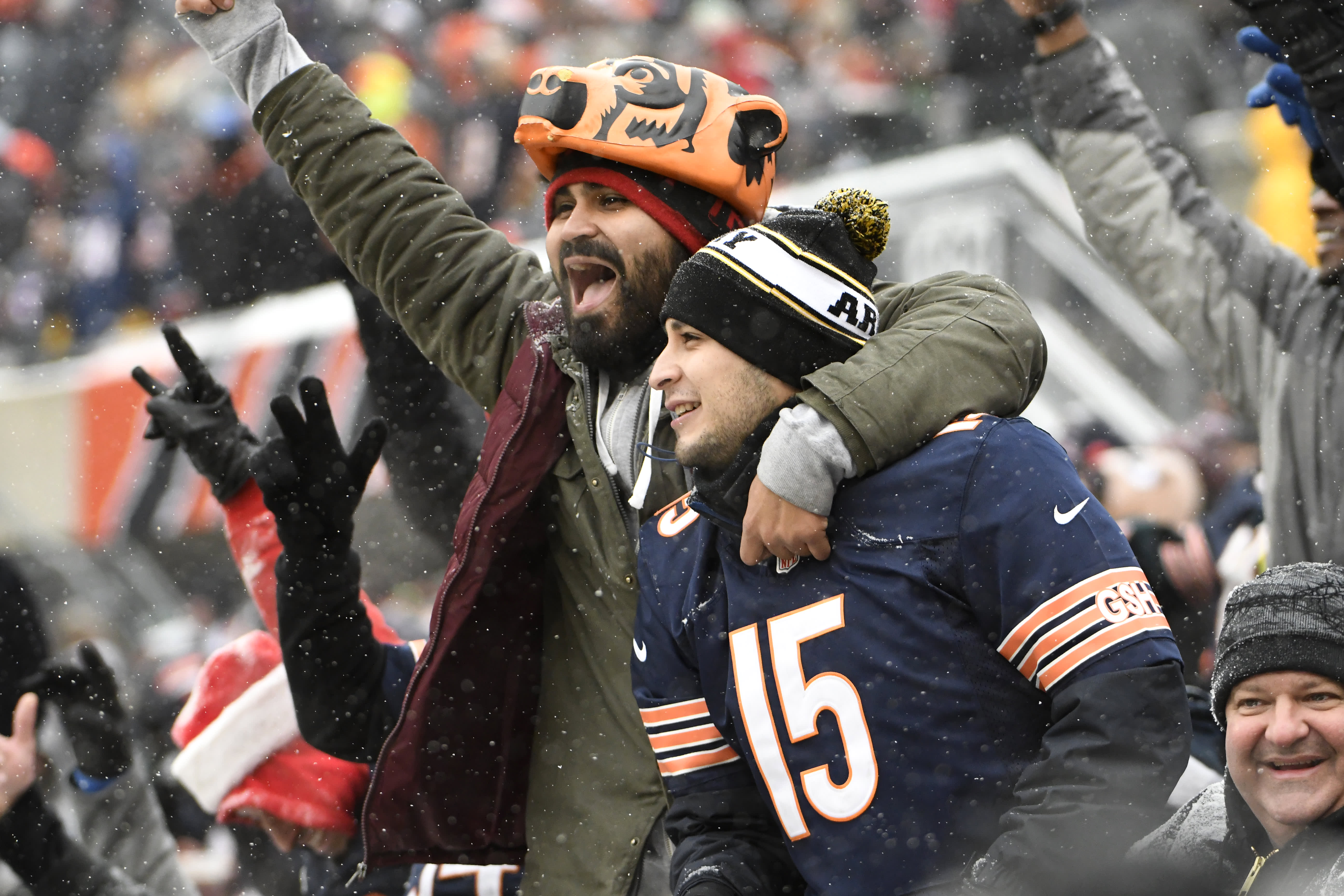 02622e0cc485 Fans are using Venmo to tip celebrities like Bears QB Mitchell Trubisky and  SNL s Michael Che