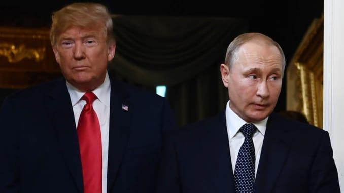 Kremlin Says It Hopes Us Wouldn T Release Trump Putin Calls