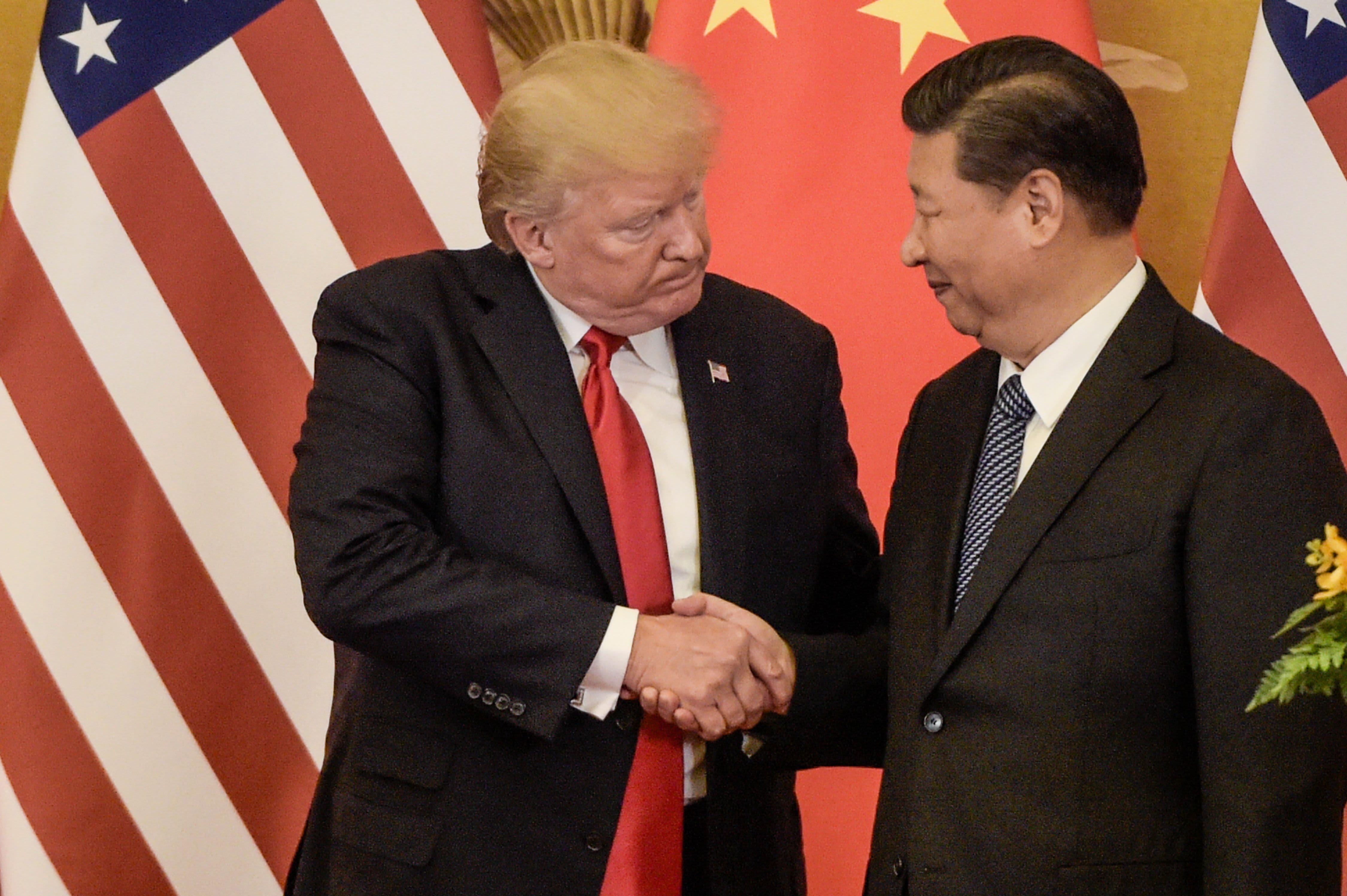 GP: CHINA-US-DIPLOMACY Donald Trump Xi Jinping US China trade