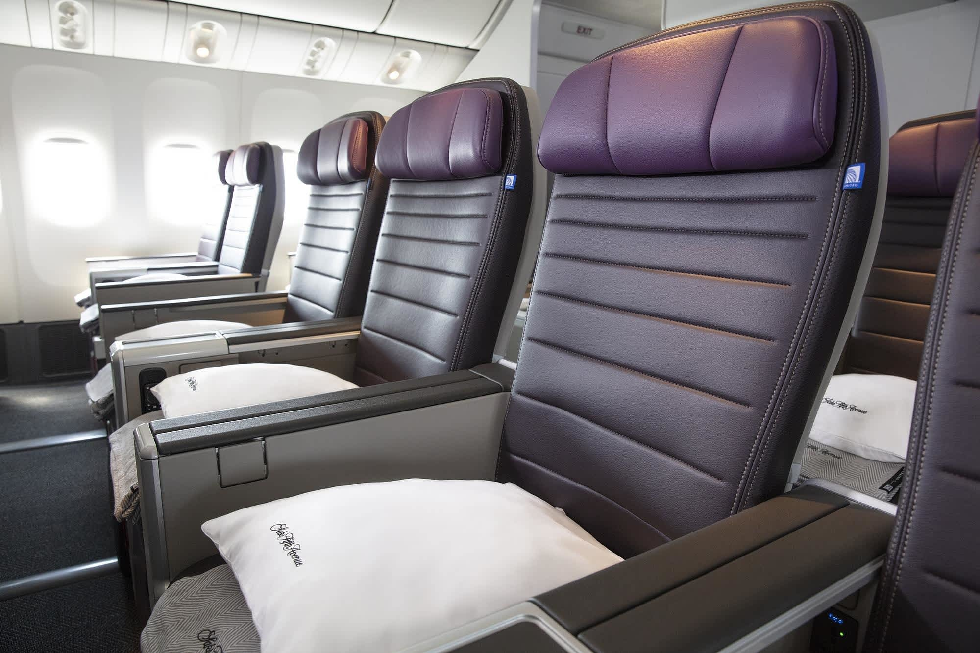 United Airlines Starts Selling Tickets In New Premium Economy Class,Bathroom Tile Flooring Designs