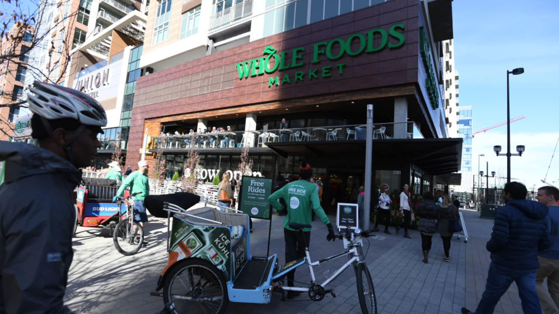 A Whole Foods locaton in downtown Denver.