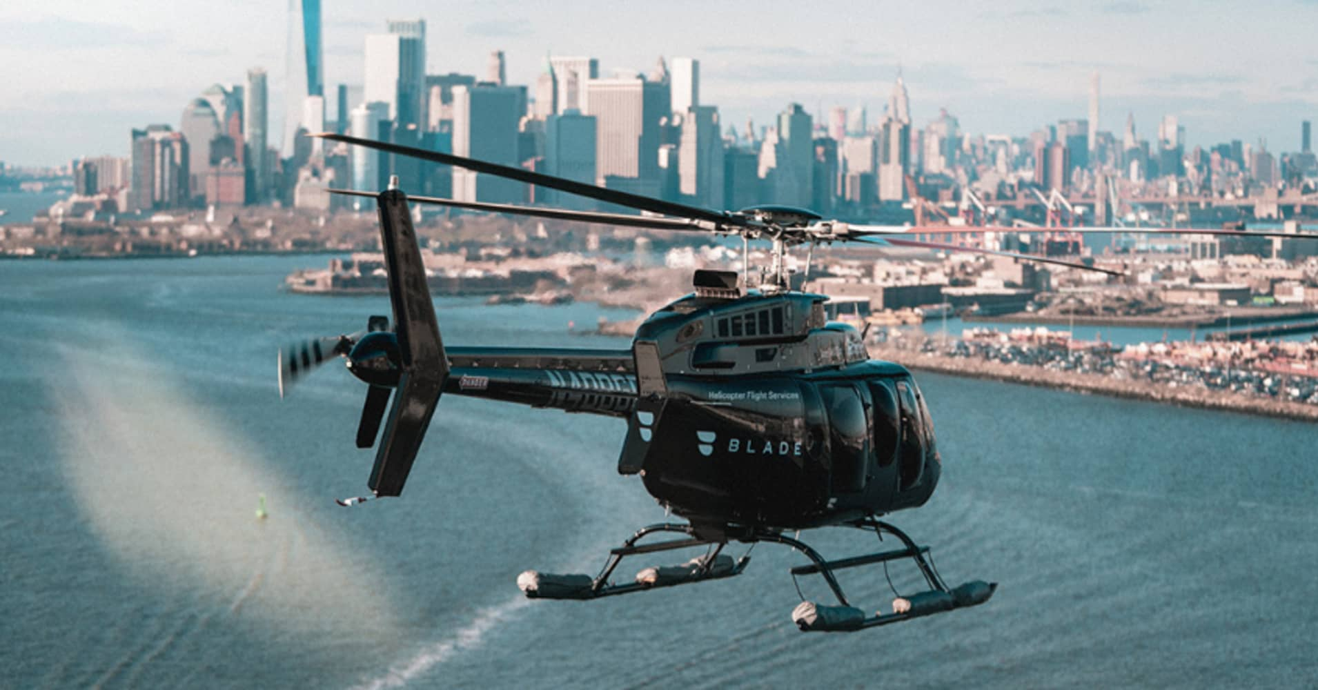 Uber vs Blade: The first helicopter race to NYC's busiest airport