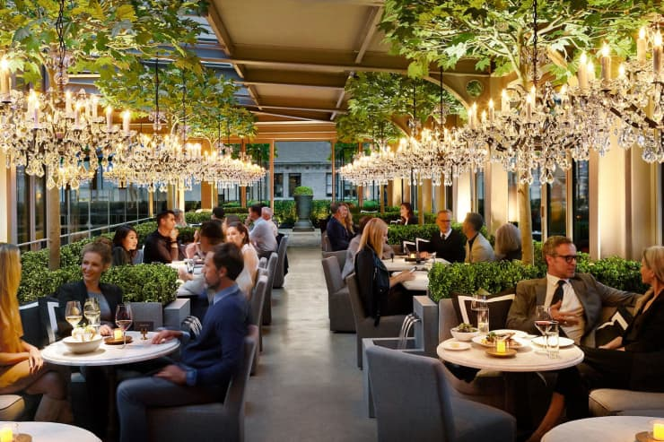 H/O: Restoration Hardware RH in Meatpacking District restaurant 04