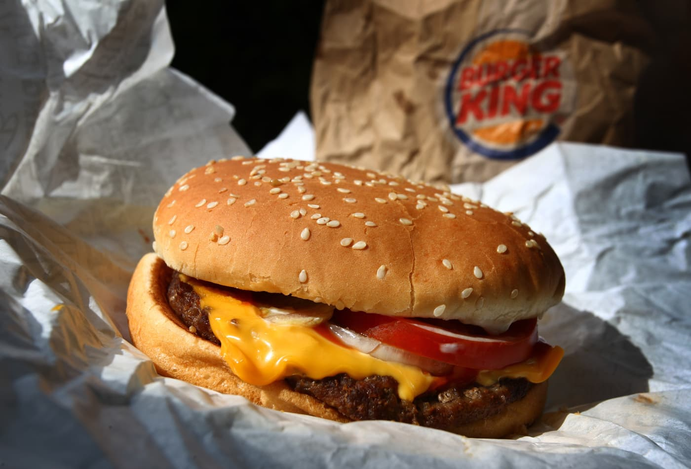 How to get a Burger King Whopper for 1 cent near McDonald's